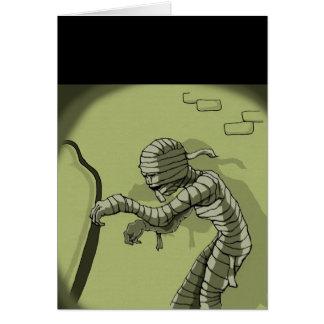 Creeping Mummy Card
