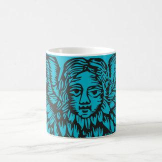Creepy 17th Century angel mug Basic White Mug