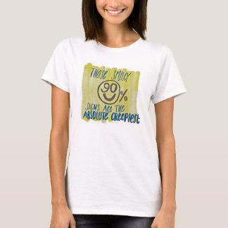 Creepy 90% Signs T-Shirt