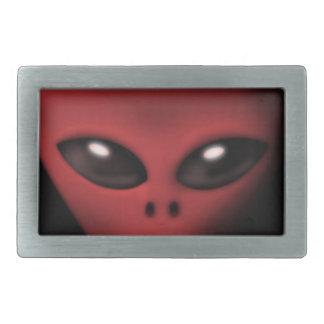 Creepy Alien Belt Buckle