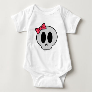 Creepy Baby Girl Baby Bodysuit