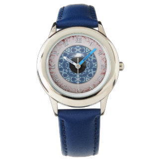 Creepy Blue Eyeball Halloween Fun Watch