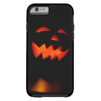 Creepy Carved Pumpkin Face Tough iPhone 6 Case