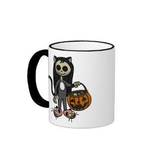 Creepy Cat Girl Mug