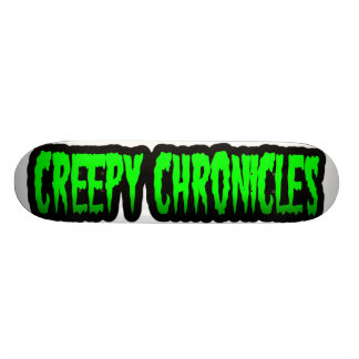 Creepy Chronicles Logo Deck Custom Skateboard