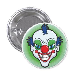 Creepy Clown Badge Pinback Button