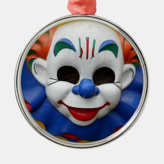 Creepy Clown Christmas Ornament
