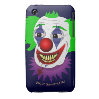 Creepy Clown iPhone 3G/3GS Barely There Case iPhone 3 Covers