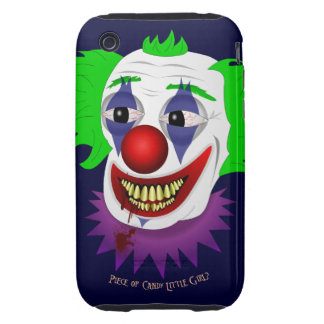 Creepy Clown iPhone 3G/3GS Tough Case iPhone 3 Tough Case