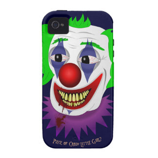 Creepy Clown iPhone 4 Tough Case