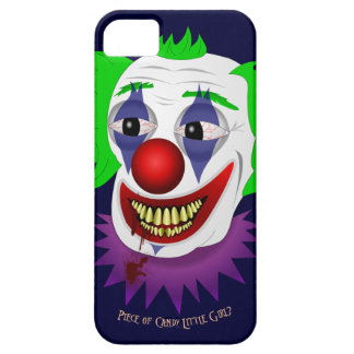 Creepy Clown iPhone 5 Barely There Case iPhone 5 Cases