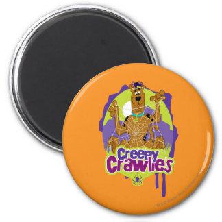 Creepy Crawlies 6 Cm Round Magnet
