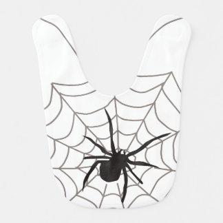 Creepy Crawly Spider Baby Bib