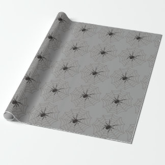 Creepy Crawly Spider Wrapping Paper