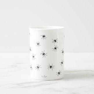 Creepy Crawly Spiders Bone China Mug
