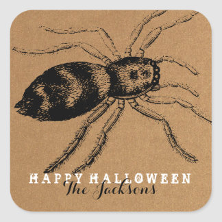 CREEPY CREATURES | HALLOWEEN GIFT TAG STICKER