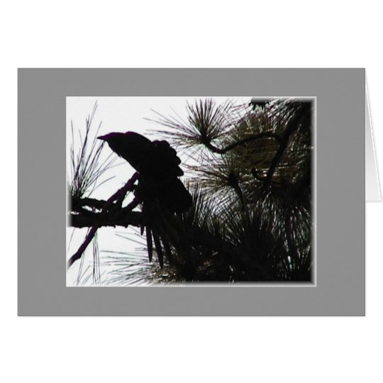 Creepy Crow Card
