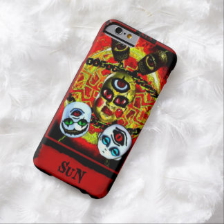 Creepy Demonic Sun Tarot Card iPhone 6 Case