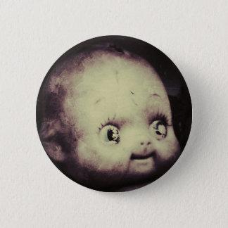 Creepy Doll 6 Cm Round Badge