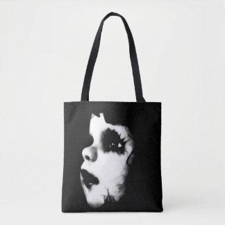 Creepy Doll Faces Tote Bag