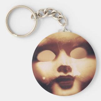 Creepy Doll Key Ring