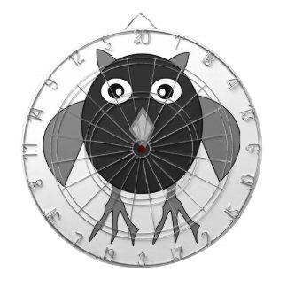 Creepy Halloween Owl Dart Board