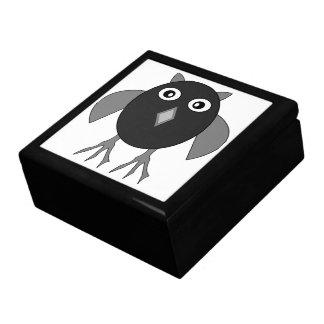 Creepy Halloween Owl Gift Box