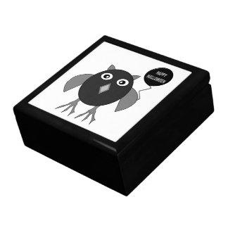 Creepy Halloween Party Owl Gift Box