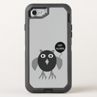 Creepy Halloween Party Owl Phone OtterBox Defender iPhone 8/7 Case