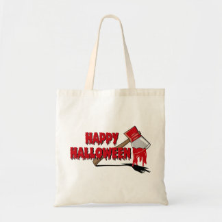 Creepy Halloween treat bag