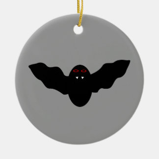 Creepy Halloween Vampire Bat Ornament