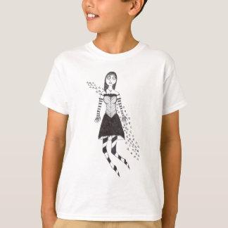 Creepy heart girl T-Shirt