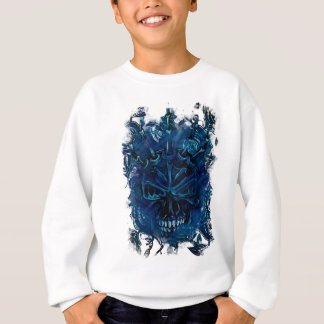 Creepy Horror Skull Sweatshirt