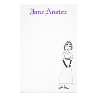 Creepy Jane Austen Stationery Design