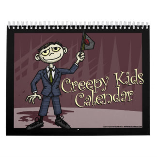 Creepy Kids Calendar