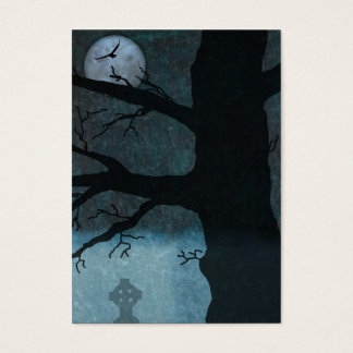 Creepy night bookmark