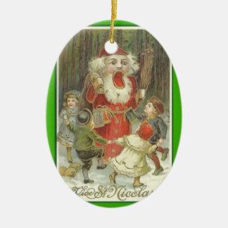 Creepy Nutcracker Ornament