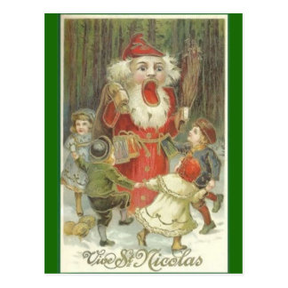 Creepy Nutcracker Postcard