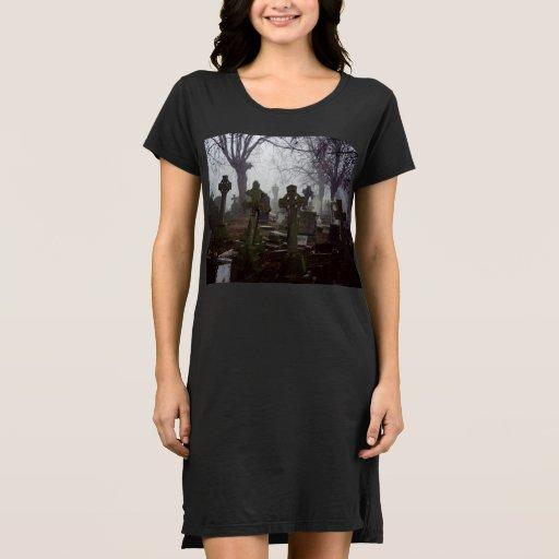 creepy old graveyard Dress