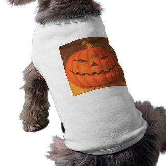 Creepy Pumpkin Pet Tee