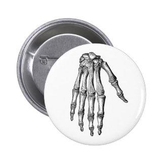 Creepy Skeleton Hand Button