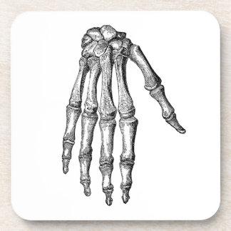 Creepy Skeleton Hand Drink Coaster