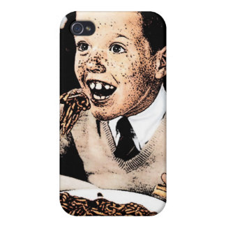 Creepy Spaghetti Kid Cover For iPhone 4