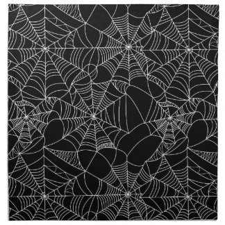 Creepy Spider Webs Napkin