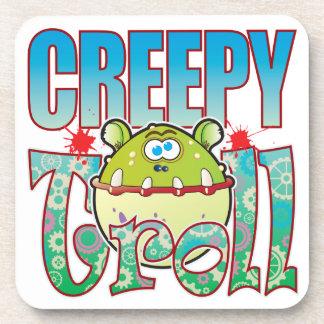 Creepy Troll Drink Coaster