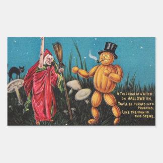 Creepy Vintage Halloween Sticker