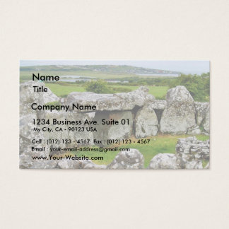 Creevykeel Stones Circles Ireland Court Tombs 4 Business Card