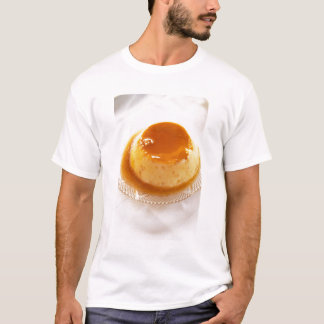 Creme caramel type of pudding with caramel T-Shirt