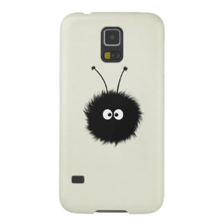 Creme Fluffy Cute Dazzled Bug Galaxy S5 Cases