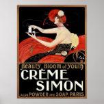 Creme Simon Soaps Print
